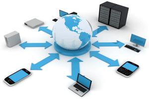 سیستم های مانیتورینگ شبکه های کامپیوتری چه چیزهایی را در شبکه مانیتور و نظارت می کنند؟